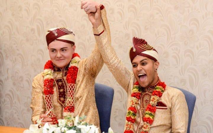 Gay Muslim Wedding, First Gay Muslim Wedding Takes Place in the UK