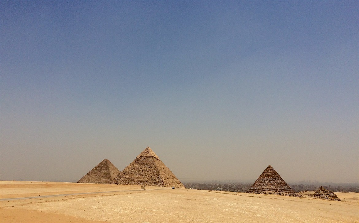 Pyramidy of Giza, Egypt - © Photo_ Hakim Khatib_MPC Journal
