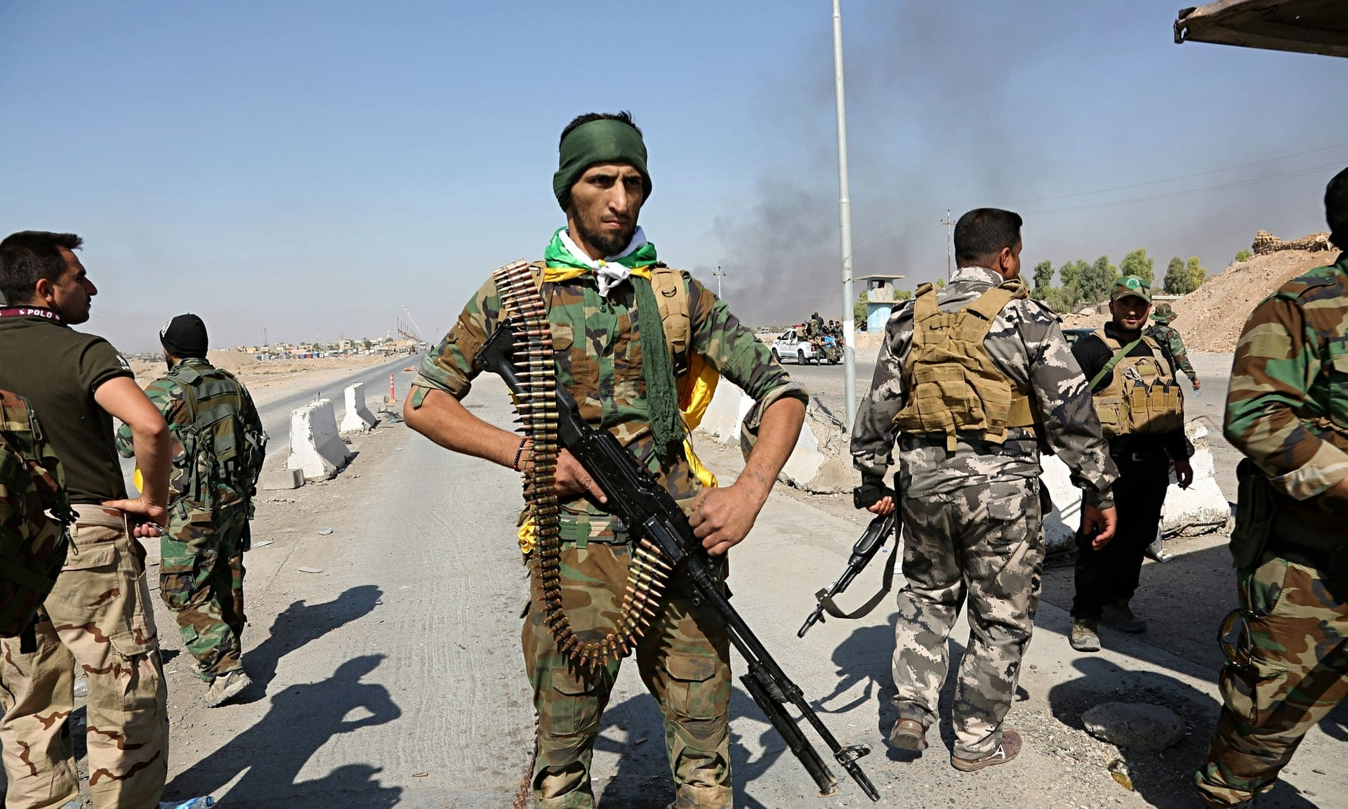 Kurdish battle positions Kurds as US ally against Iran
