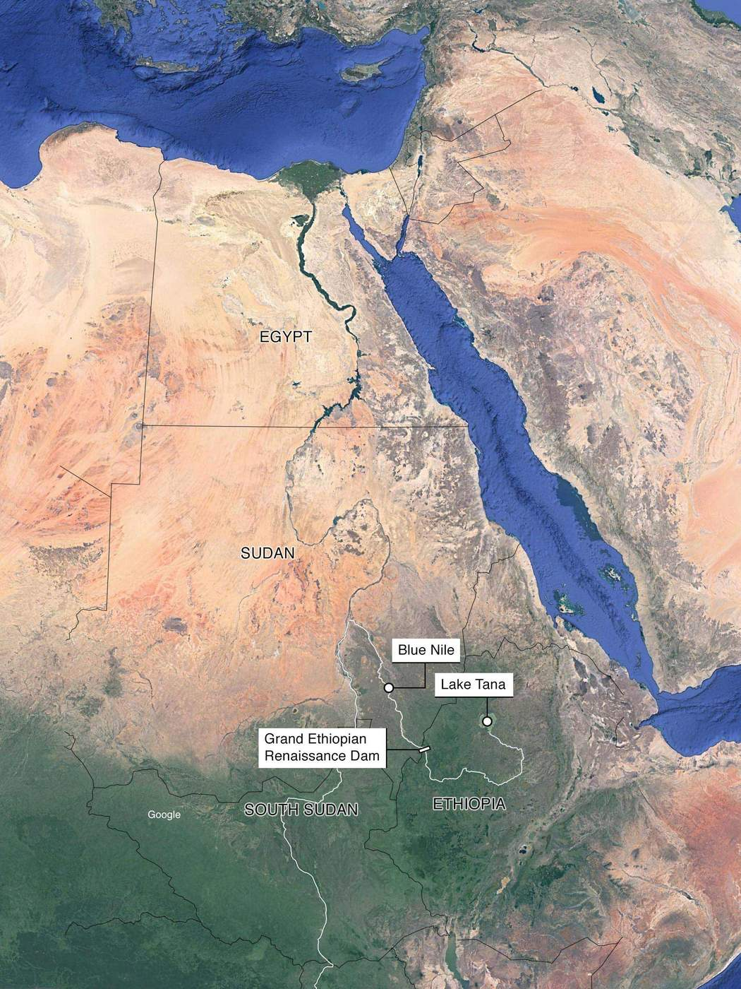 Damming the Nile - Egypt, Sudan and Ethiopia Battle It out