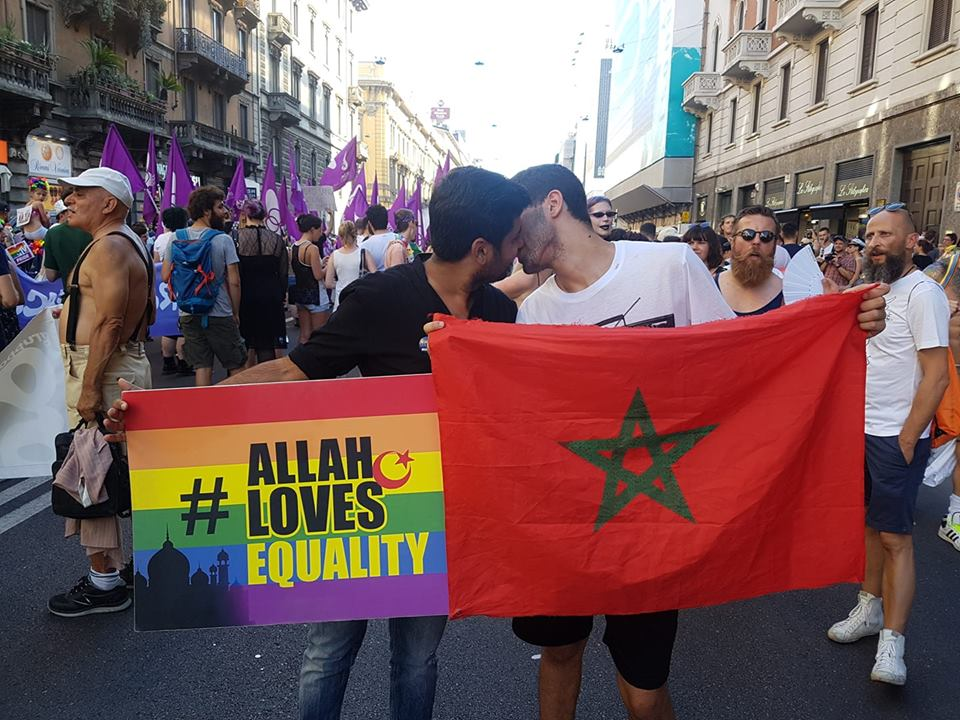 Allah loves equality, decriminalise homosexuality in Morocco #LoveisLove