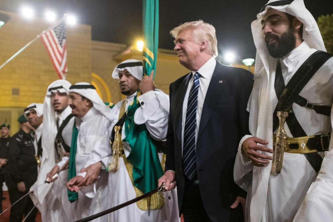 SAUDI-US-DIPLOMACY-TRUMP