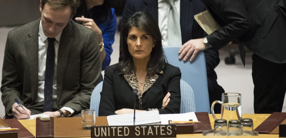 UN Security Council Meets On Jerusalem And Israeli-Palestinian Question