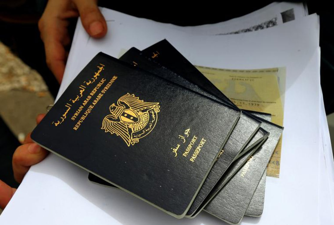 The Syrian Regime Uses Passports' Issuance to Finance Its War
