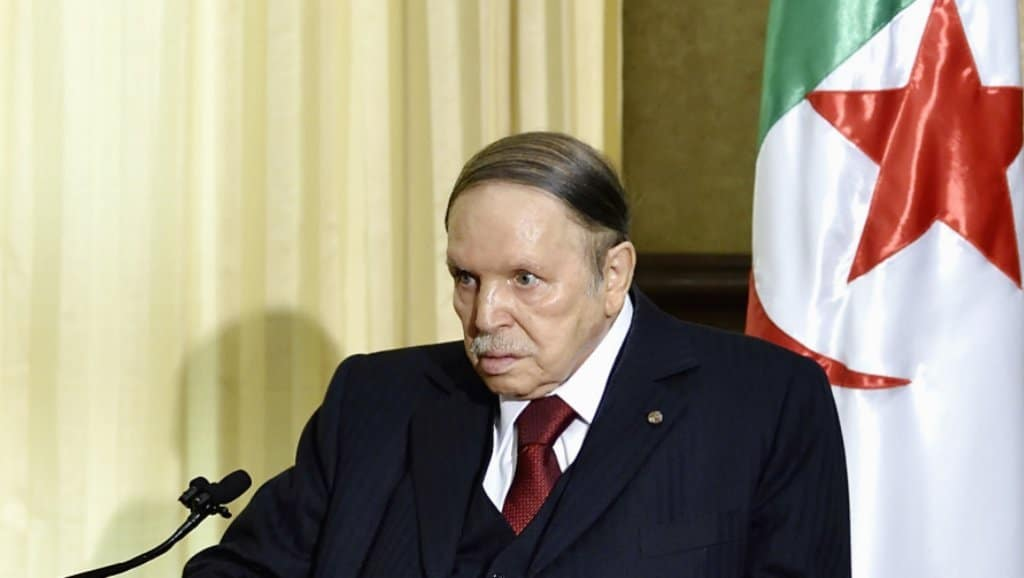 President Bouteflika spoke for the first time since the beginning of the demonstrations in Algeria, via a statement, on March 7, 2019. AFP (archives)