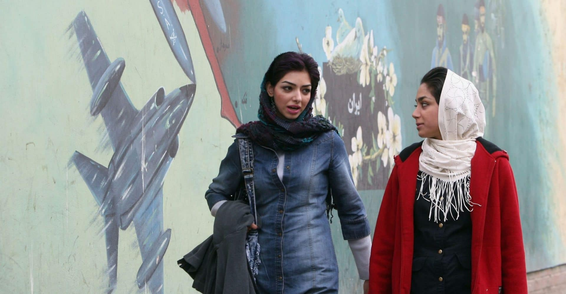 Young Iranian women in Tehran CREDIT: GETTY IMAGES