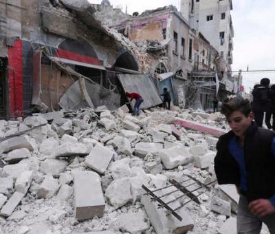 Syria's Rebel-Held Idlib Was Hit by 200 Air Strikes