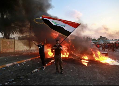 Iraq's entangled riots