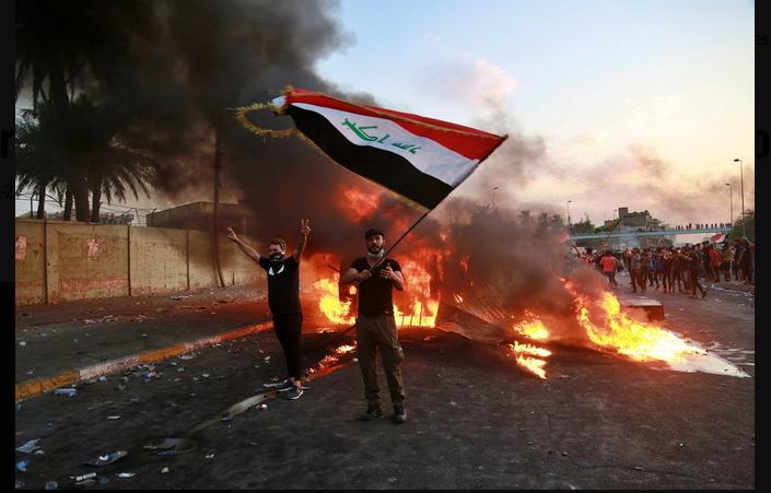 Iraq's entangled riots, Iraq's Entangled Riots – Op-Ed