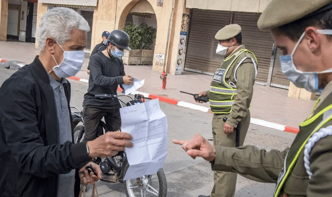 , 4,300 people were arrested over the weekend in Morocco