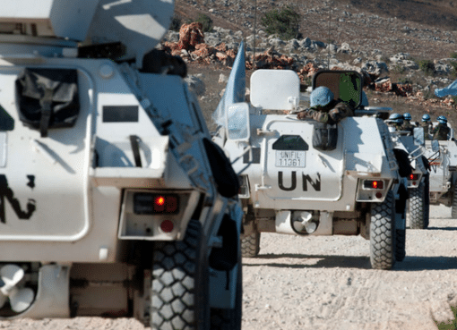UNIFIL/Pasqual Gorriz UNIFIL peacekeepers in southern Lebanon.