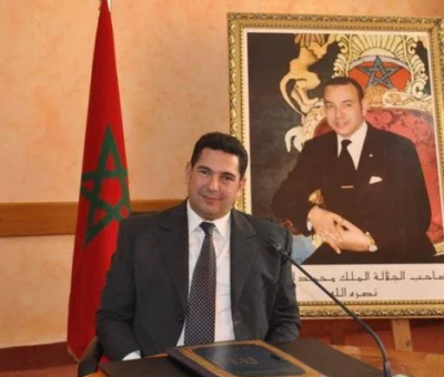 Morocco's Minister of Education Said Amzazi