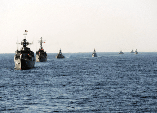 Iranian Naval Activity Shines Light on Caspian Sea Rivalries