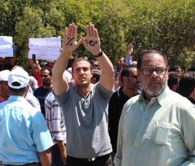 Growing Concern After Arrests and Shutdown of Jordan Teachers Union