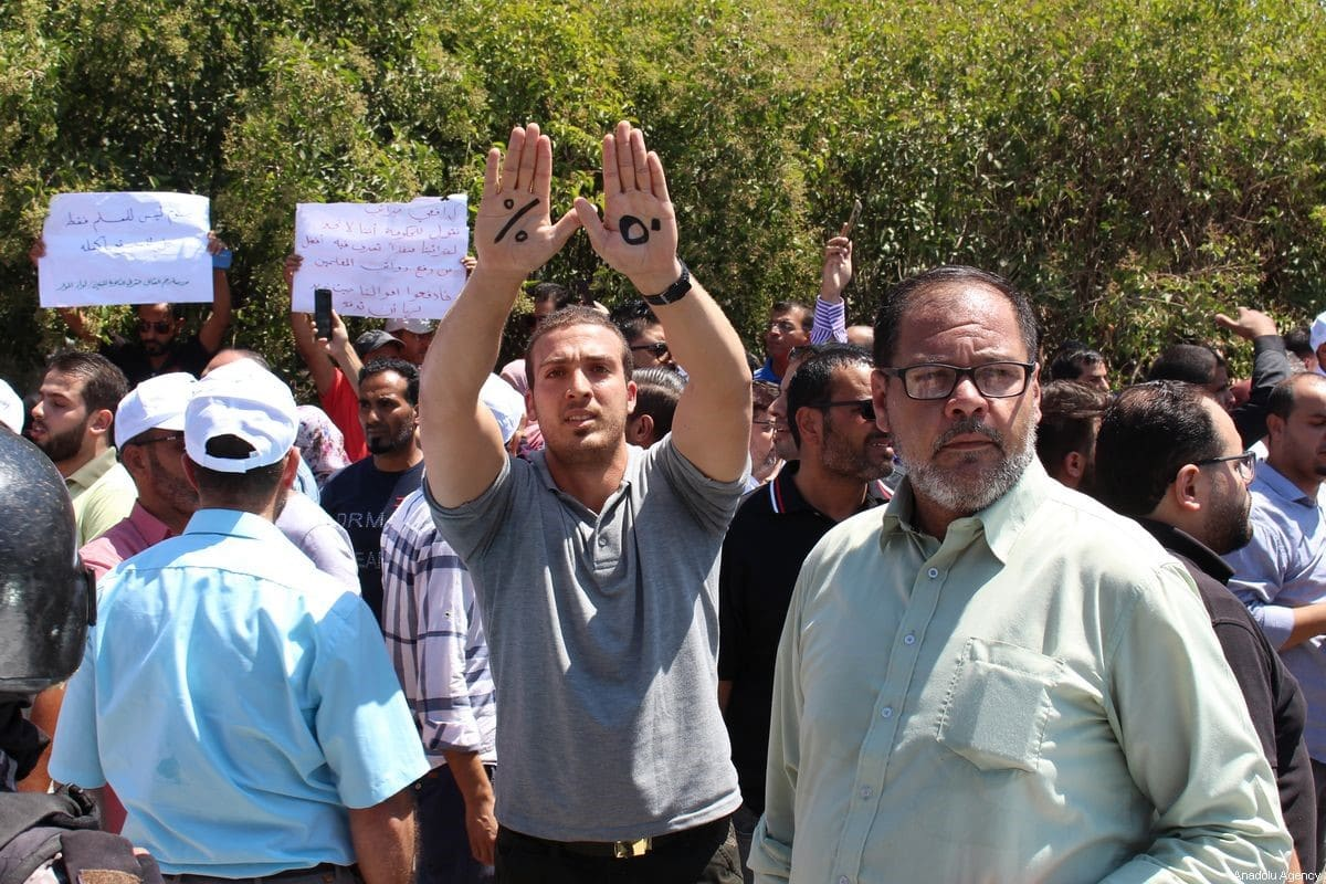 Growing Concern After Arrests and Shutdown of Jordan Teachers Union, Growing Concern After Arrests and Shutdown of Jordan Teachers Union