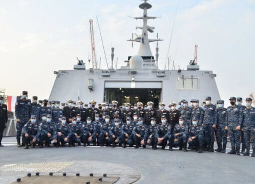 "Egyptian Navy Commissions Locally Built Corvette ""Port Said"""