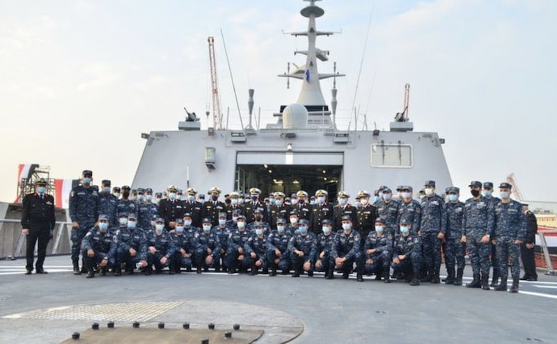 "Egyptian Navy corvette fateh, Egyptian Navy Commissions Locally Built Corvette ""Port Said"", Middle East Politics & Culture Journal"