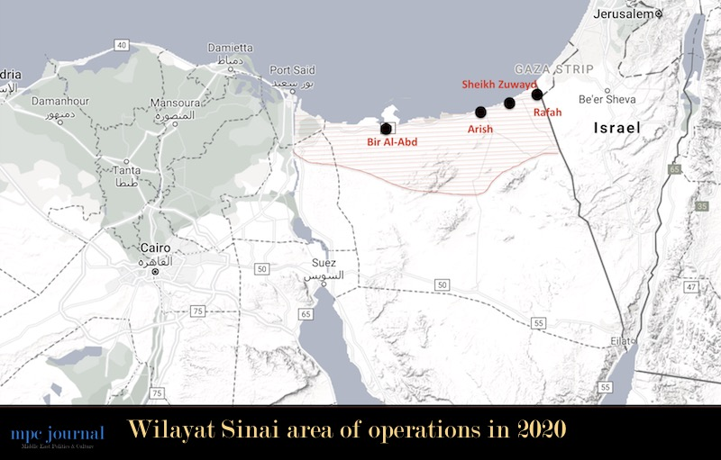 11 Wilayat Sinai Militants Surrender to Egyptian Armed Forces, 11 Wilayat Sinai Militants Surrender to Egyptian Armed Forces, Middle East Politics & Culture Journal